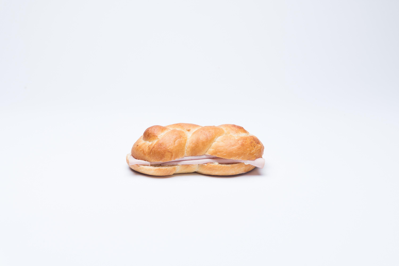 Fleischkäsesandwich