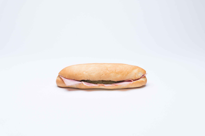 Schinkensandwich gross