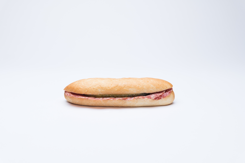 Salamisandwich gross
