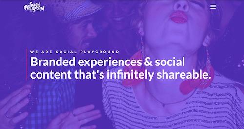 Bullet Digital Website Development Social Playground Client
