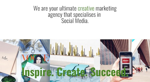 An Example Image from a Website Build by Bullet Digital Sydney