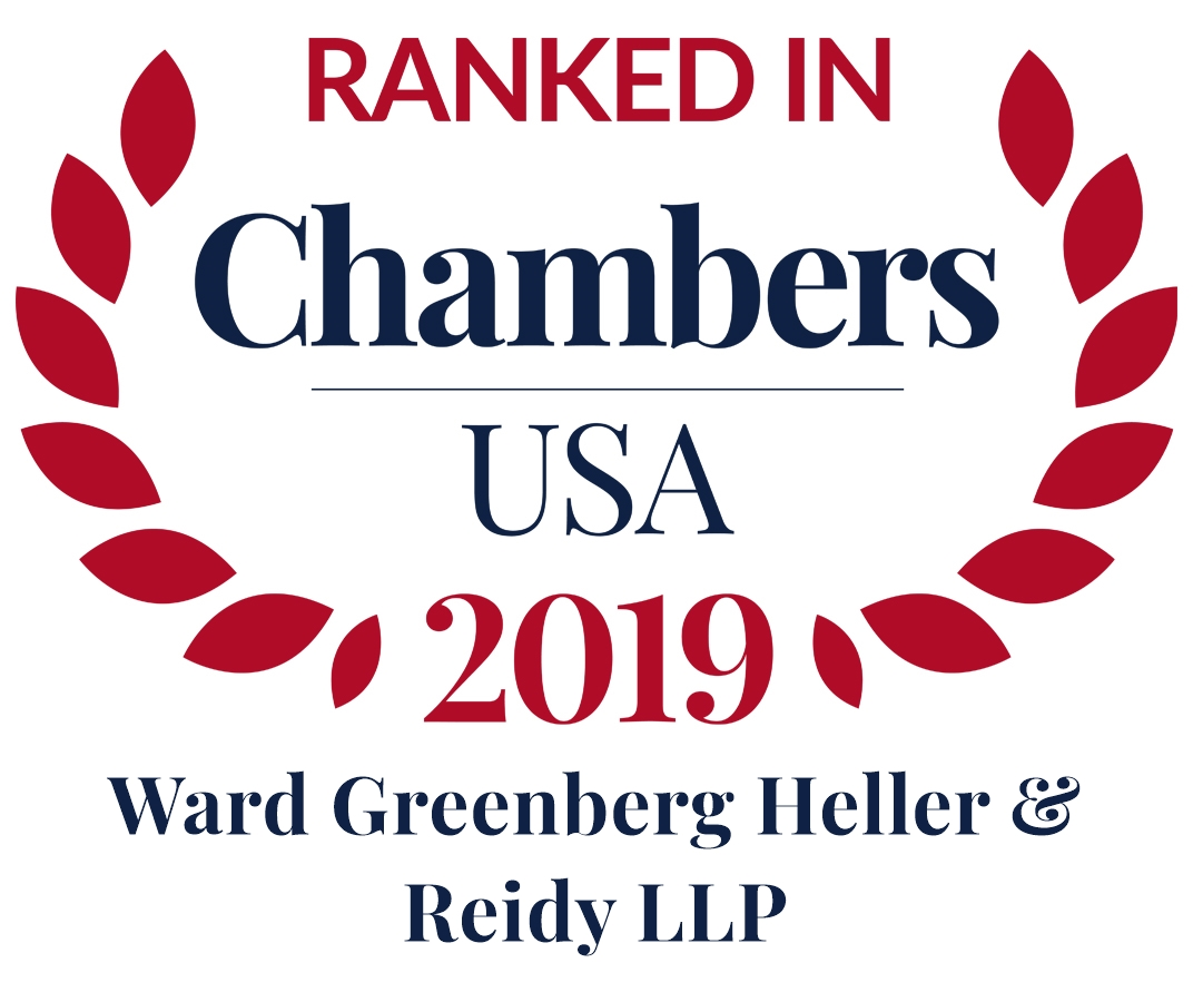 Ranked in Chambers USA 2019 Logo