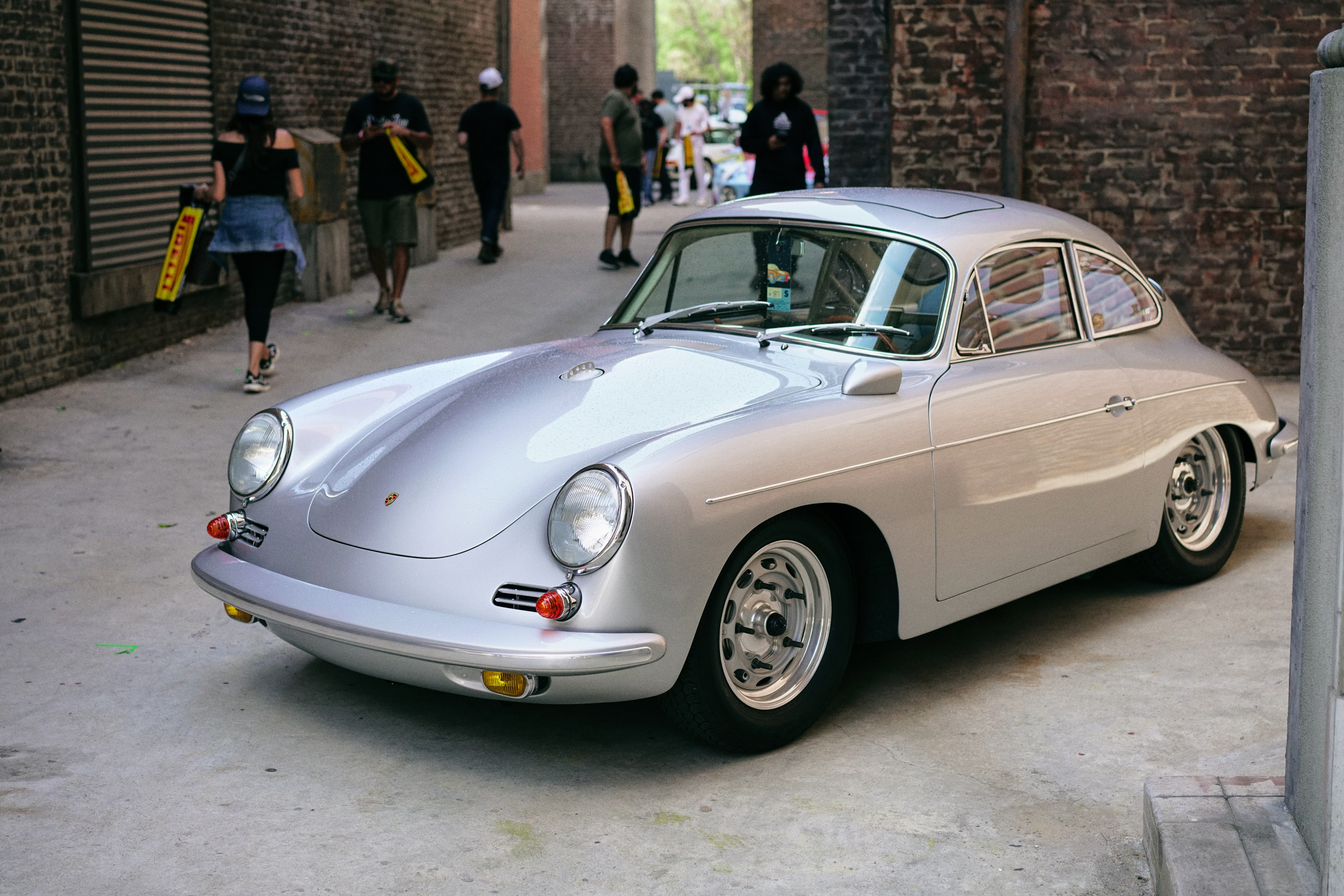 Luftgekühlt-6-Rennen-58-Porsche-356-1963-GT-Front