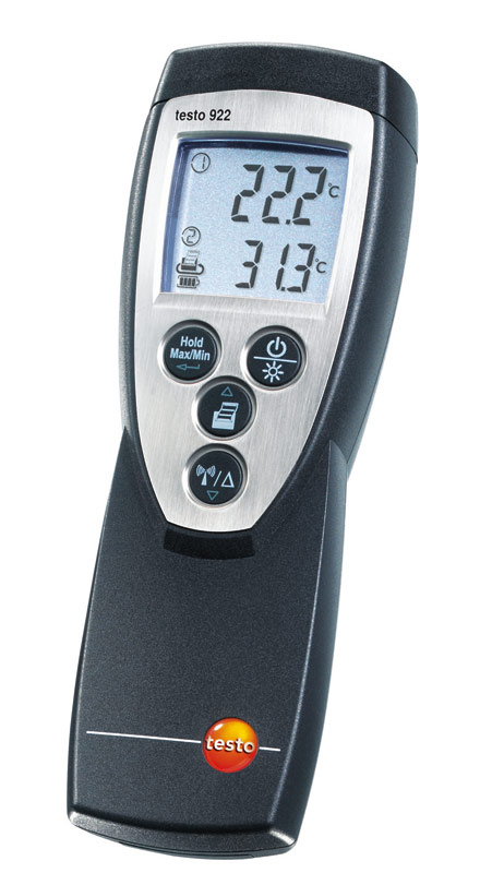 Testo 922 Lämpömittari 2-kanavainen