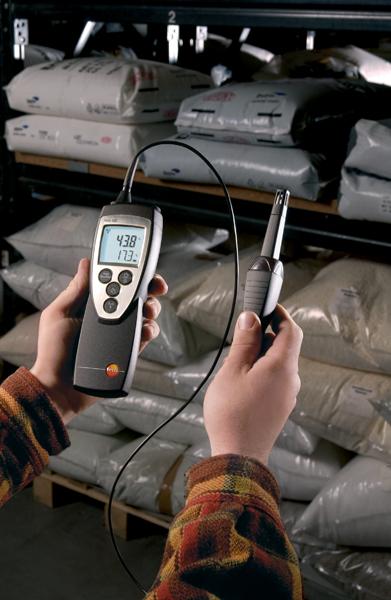 Testo 625 Kosteus-/lämpötilamittari