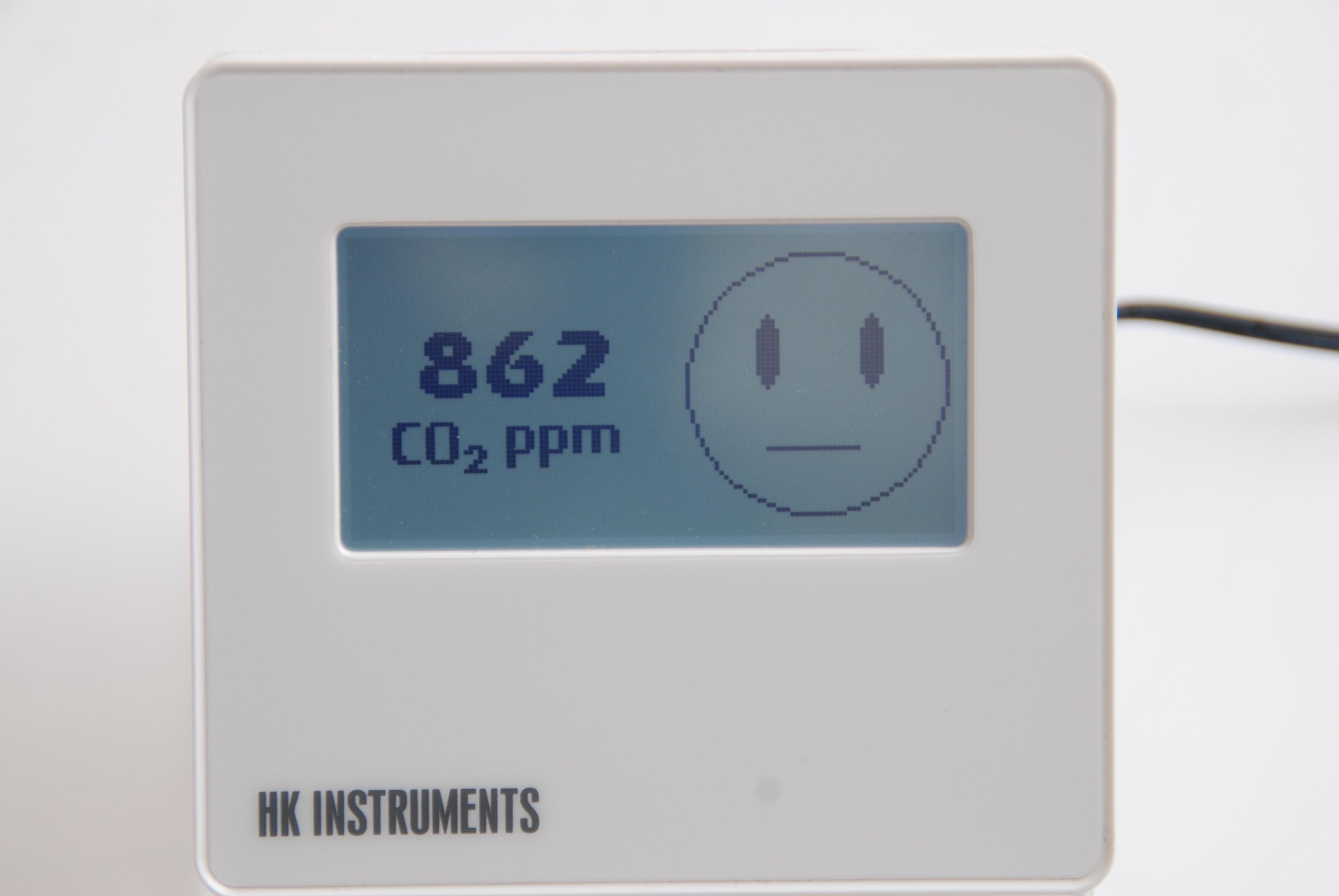 CDT2000-D Hiilidioksidi CO2 + lämpötilamittauslaite