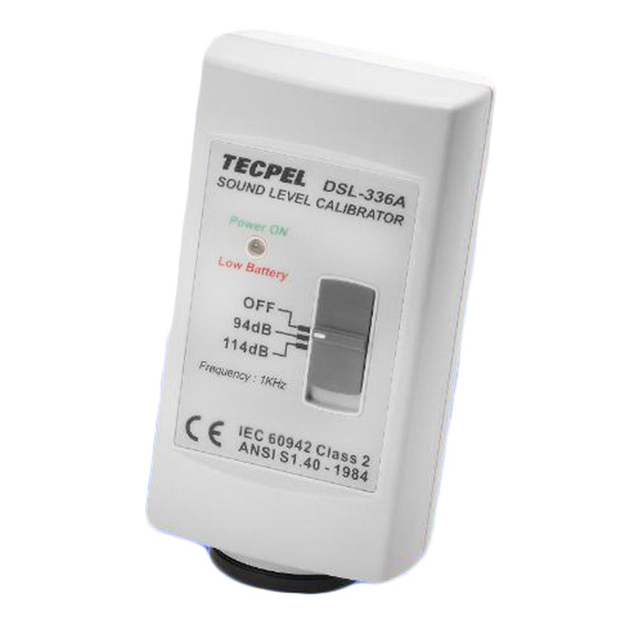 Tecpel DSL-336A Äänitasokalibraattori