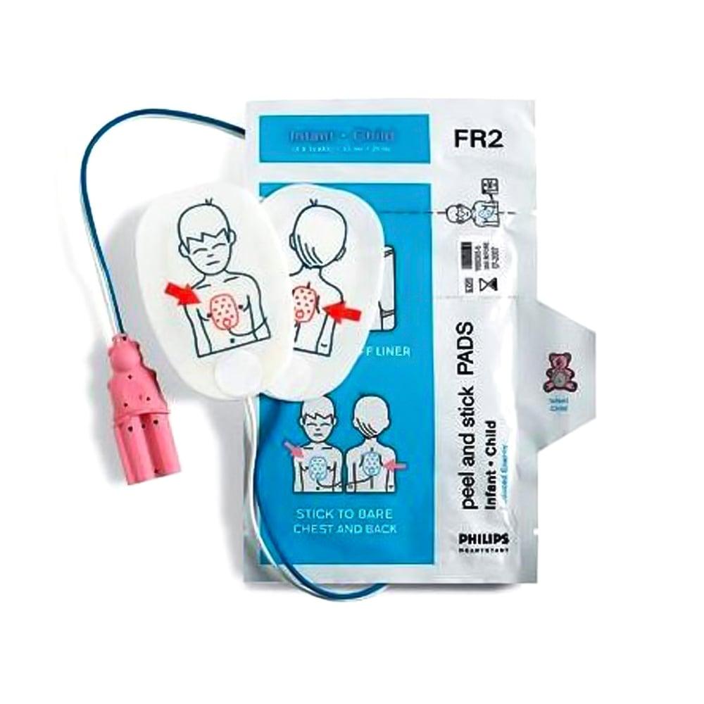 Philips Heartstart FR2 & FR2+ Defibrillator Paediatric Pads