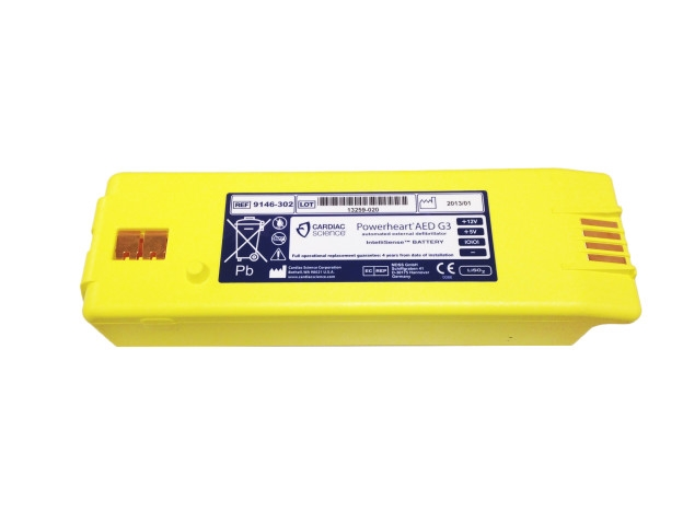 Cardiac Science Powerheart G3 Defibrillator Battery