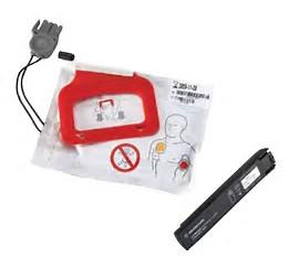 LIFEPAK CR Plus Defibrillator Pads & Charge Stick Combi(1 set of Pads)