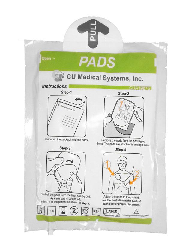 CU Medical Systems iPAD SP1 Defibrillator Smart Pads (Child & Adult)