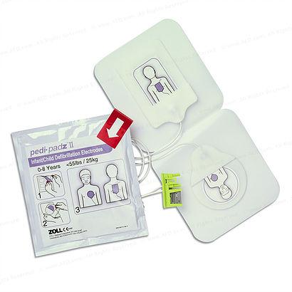Zoll AED Plus Defibrillator Paedi-Padz-II