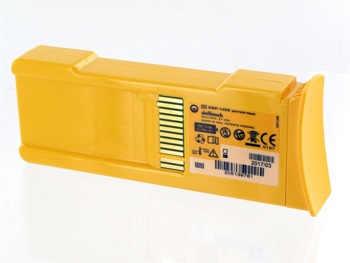 DefibtechLifeline Defibrillator 4.5 to 5 Year Battery