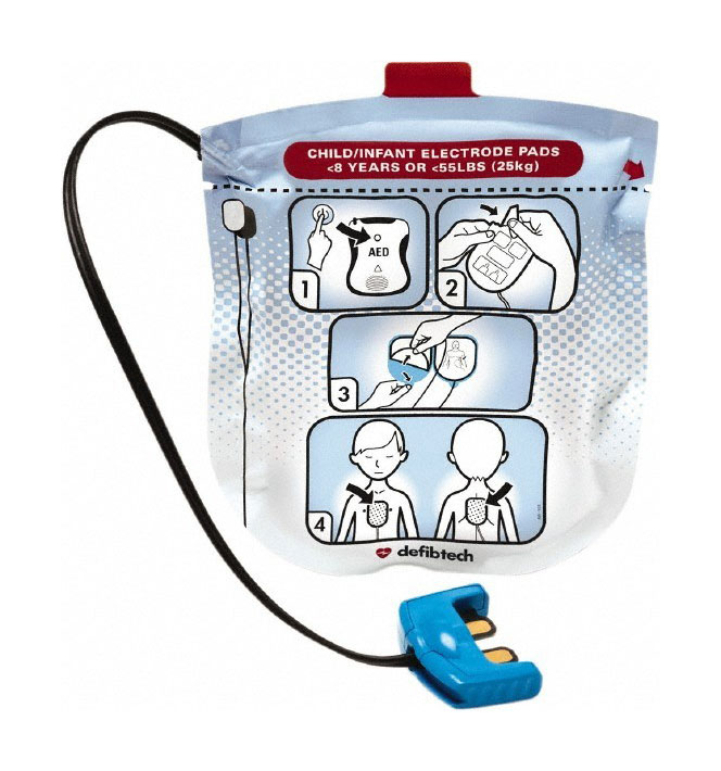 Defibtech Lifeline View Defibrillator Child Pads