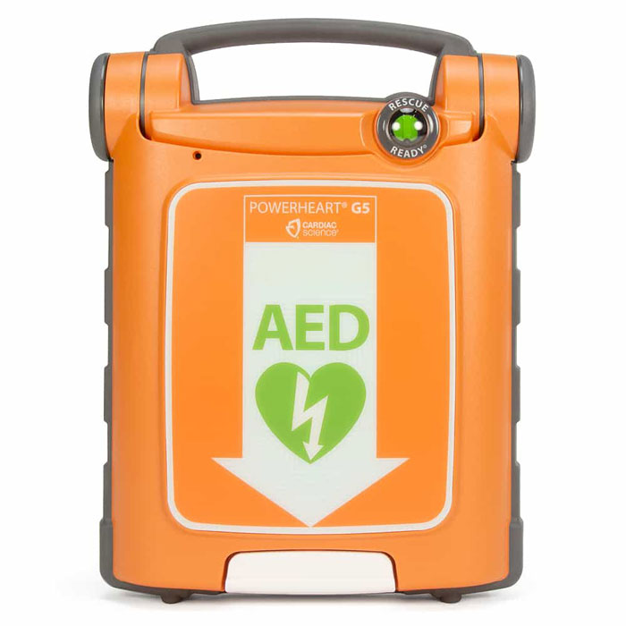 Cardiac Science Powerheart G5 Defibrillator Fully Automatic with CPR Feedback