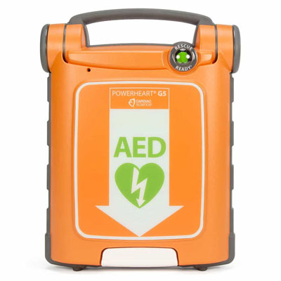 Cardiac Science Powerheart G5 Defibrillator Semi-Automatic with CPR Feedback