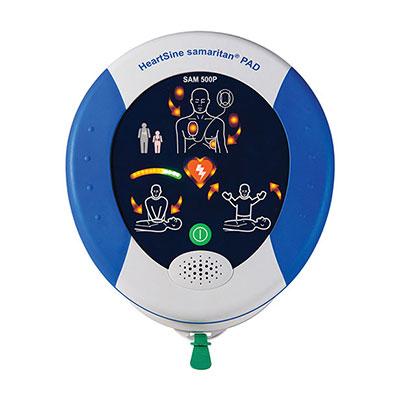Heartsine Samaritan Pad 500P Semi-Automatic Defibrillator with CPR Advisor