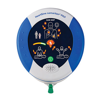Heartsine Samaritan Pad 500P Defibrillator with CPR Advisor