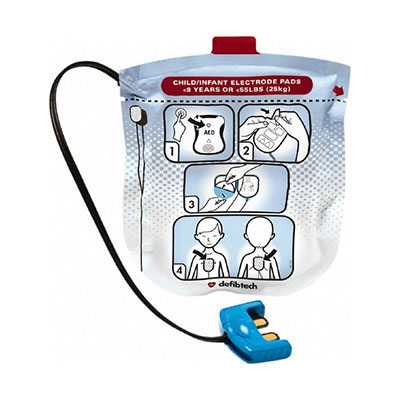 Defibtech Lifeline View Defibrillator Child Pads