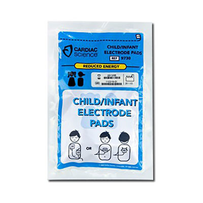 Cardiac Science Powerheart G3 Child Defibrillator Pads