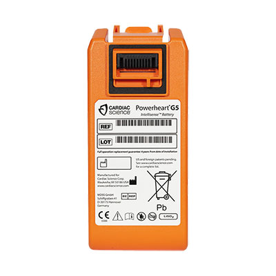 Cardiac Science Powerheart G5 Defibrillator Battery