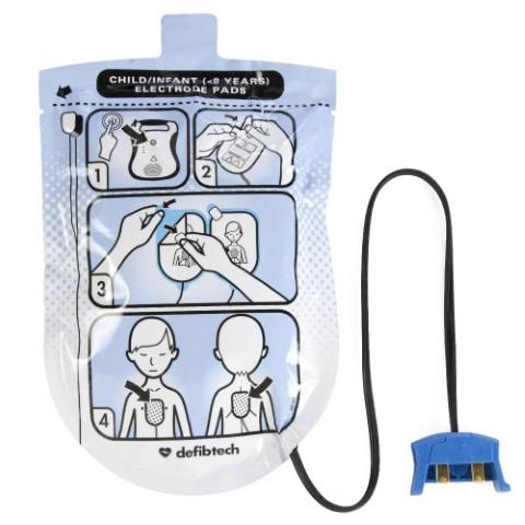 Defibtech Lifeline Defibrillator Child Pads