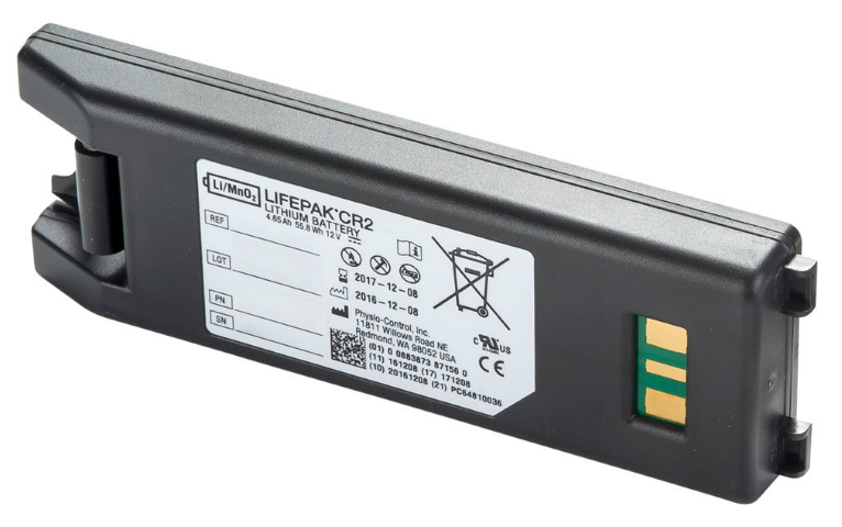 Lifepak CR2 Defibrillator Battery