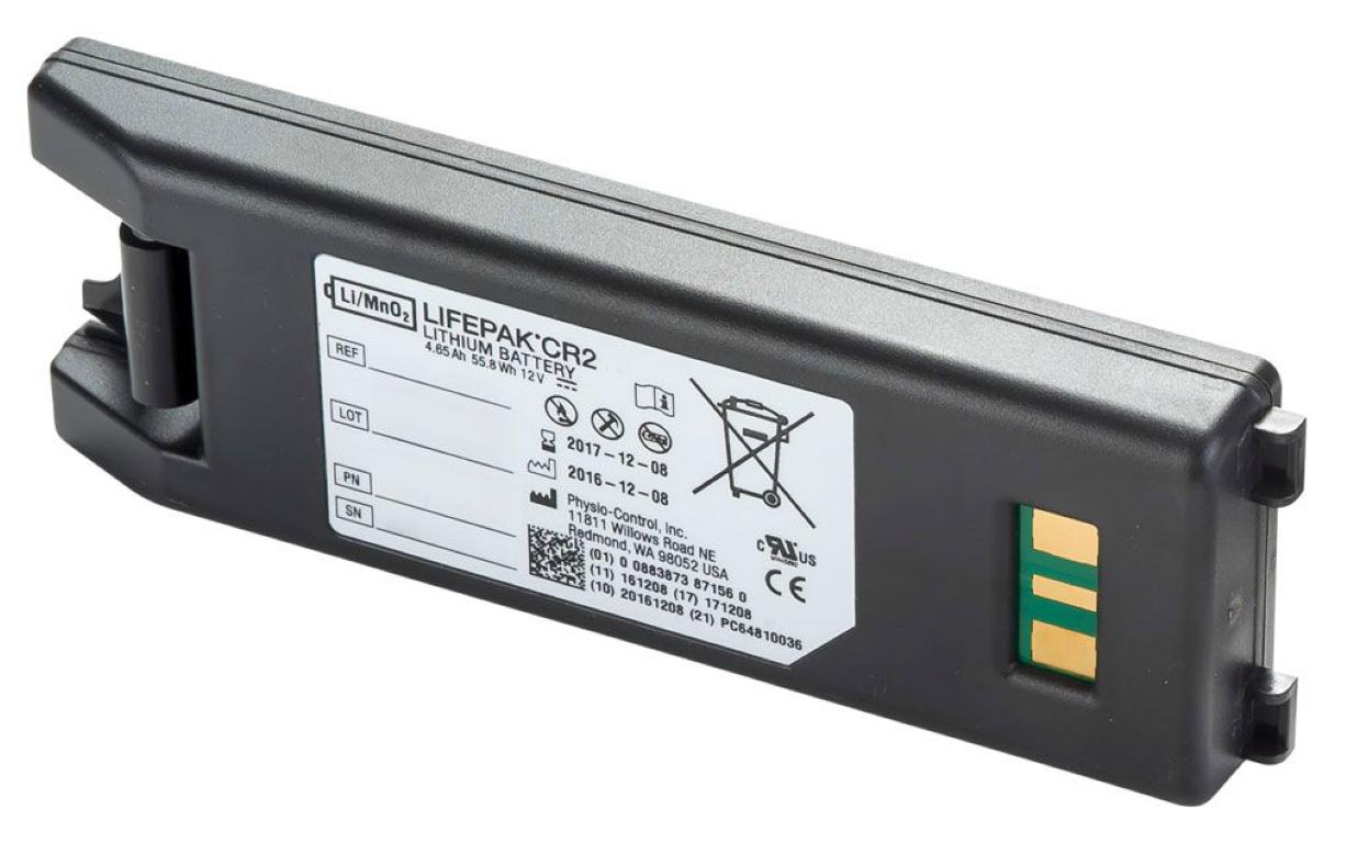 Lifepak CR2 Defibrillator Battery