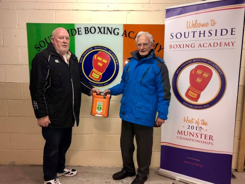 Southside Boxing Club purchase Defibrillator