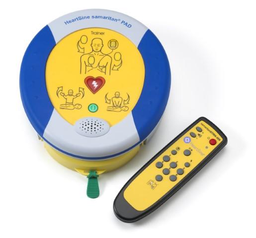 HeartSine Samaritan PAD 350P Semi Automatic Defibrillator Trainer