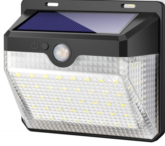 Solar Powered 270 Degree Motion Sensor Light