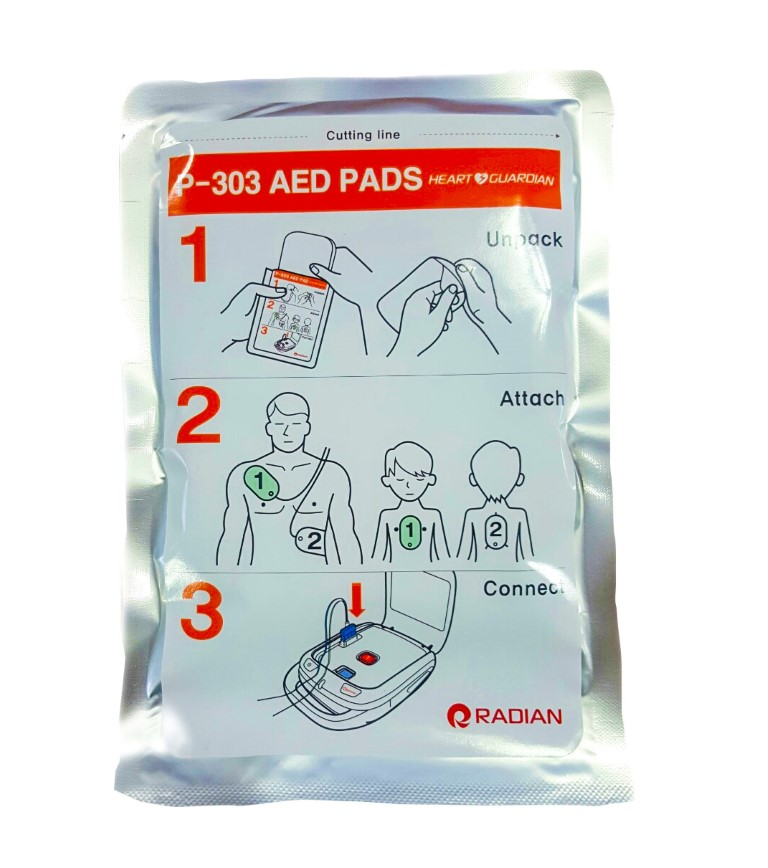 Radian HR501 Defibrillator Adult & Child Pads