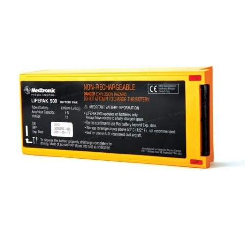 LIFEPAK 500 Non-Rechargeable Battery