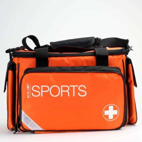 Multi Purpose Sports Kit In Large Orange Bag