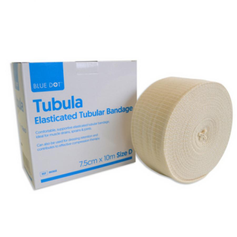 Tubular Bandage Size D 7.5cm x 10m Elastic Support