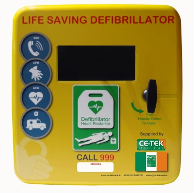 Defib Store 4000 Unlocked Polycarbonate Cabinet