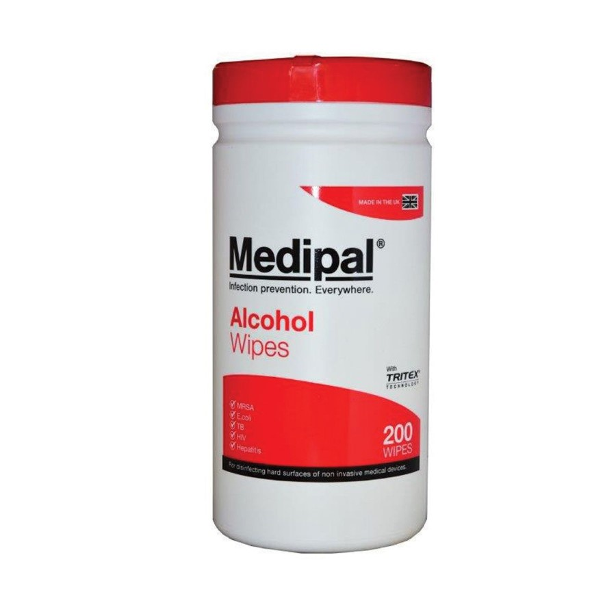Medipal Healthcare Alcohol Wipes Canister 200