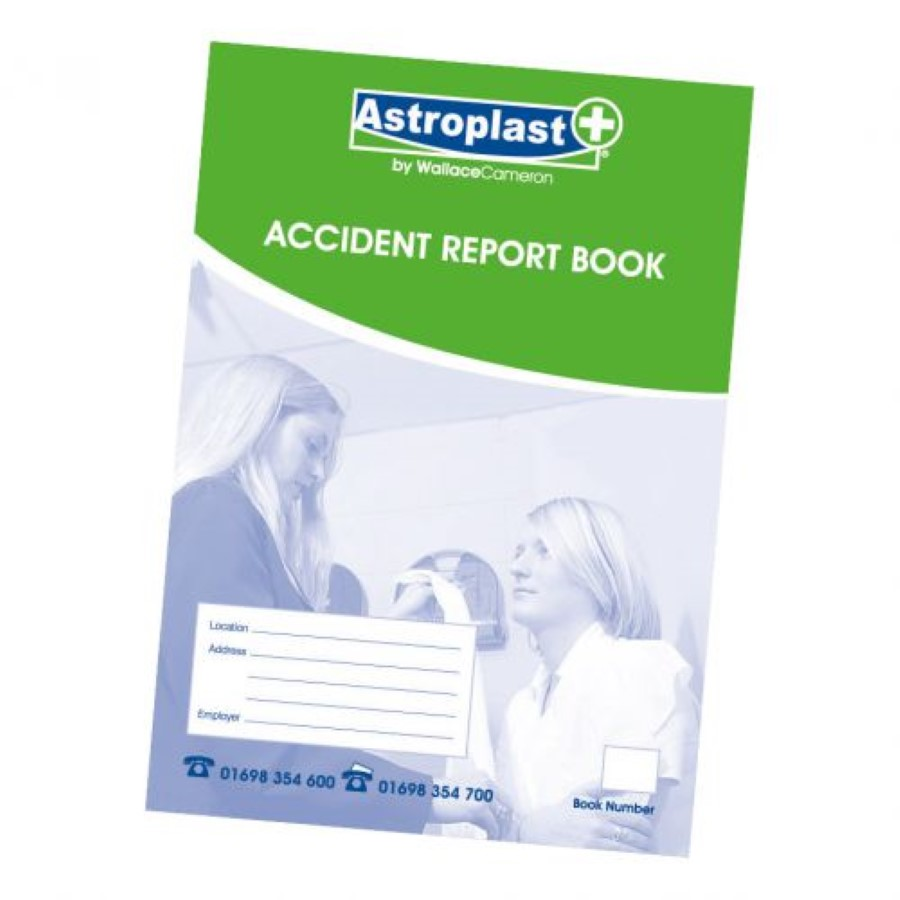 Astroplast Accident Report Book A5