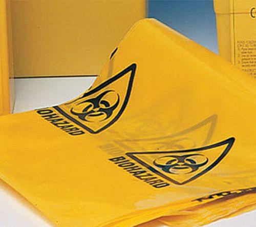 Bio Hazard Yellow Clinical Waste Bags (50) Bag