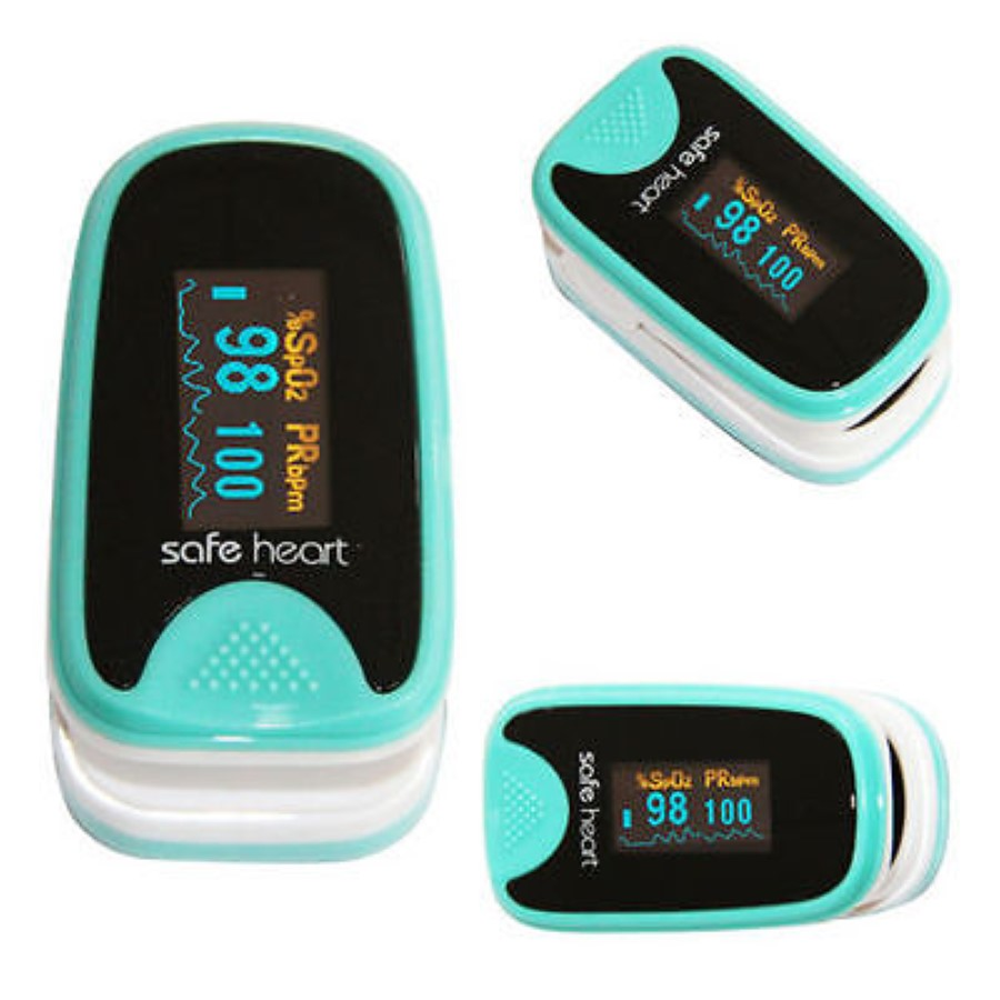 Safe Heart SpO2 Fingertip Pulse Oximeter