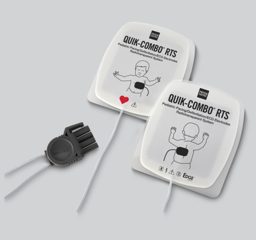 LifePak 12 Defibrillator Child Pads