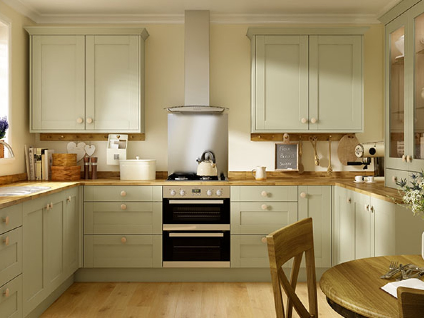 Oxford Olive Green Kitchen Fitted Kitchens Ara