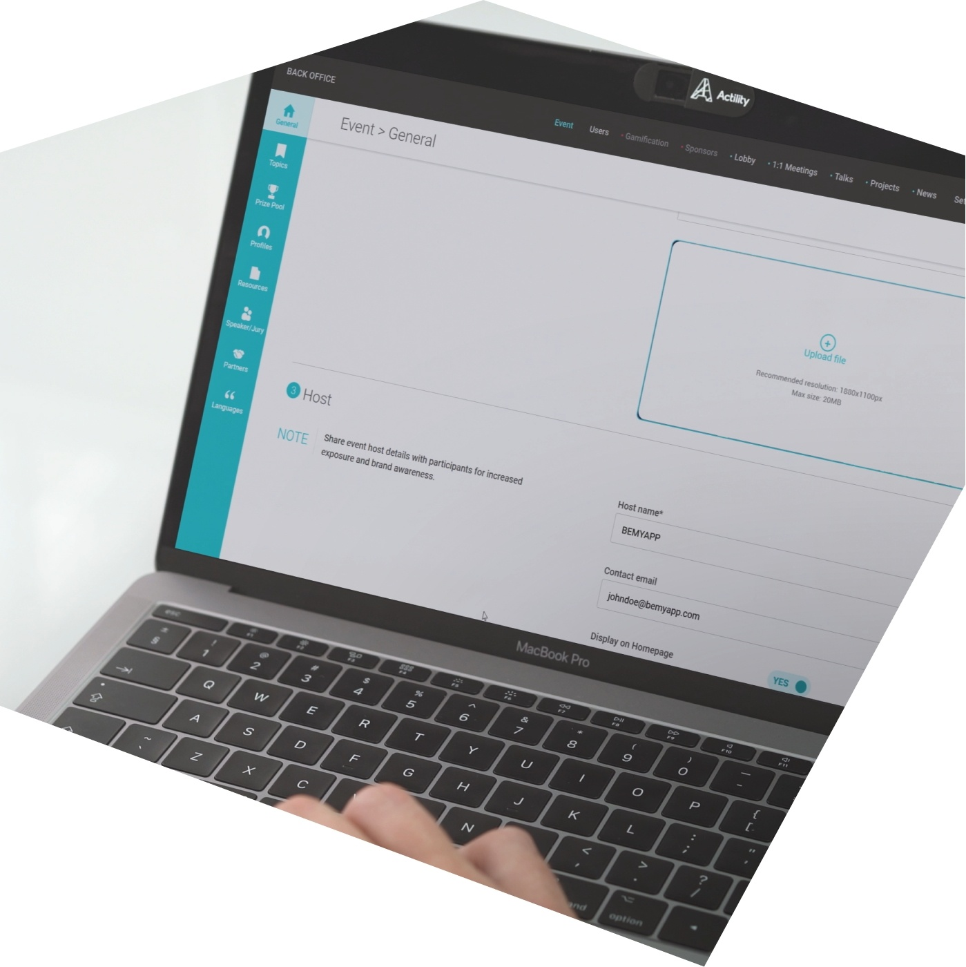 custom hackathon platform
