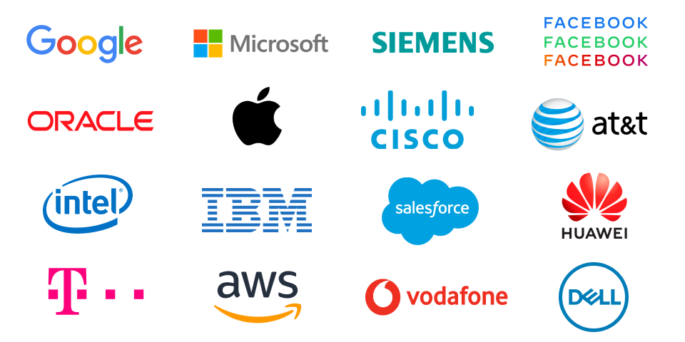 Technology and telecom clients
