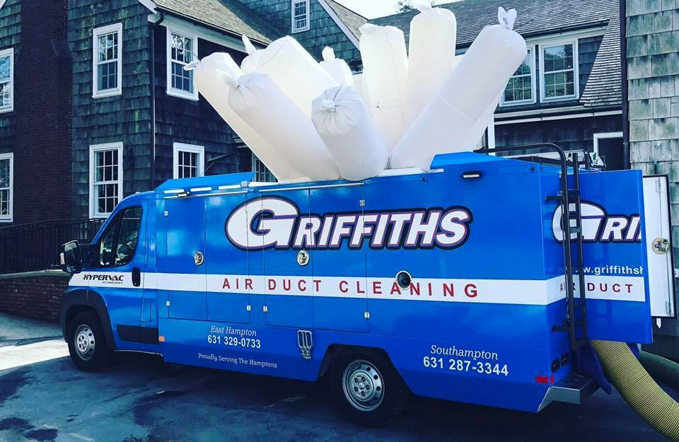 griffiths air duct cleaning van