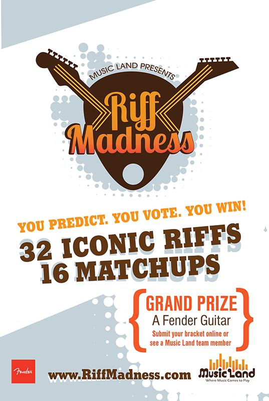 Riff Madness Poster