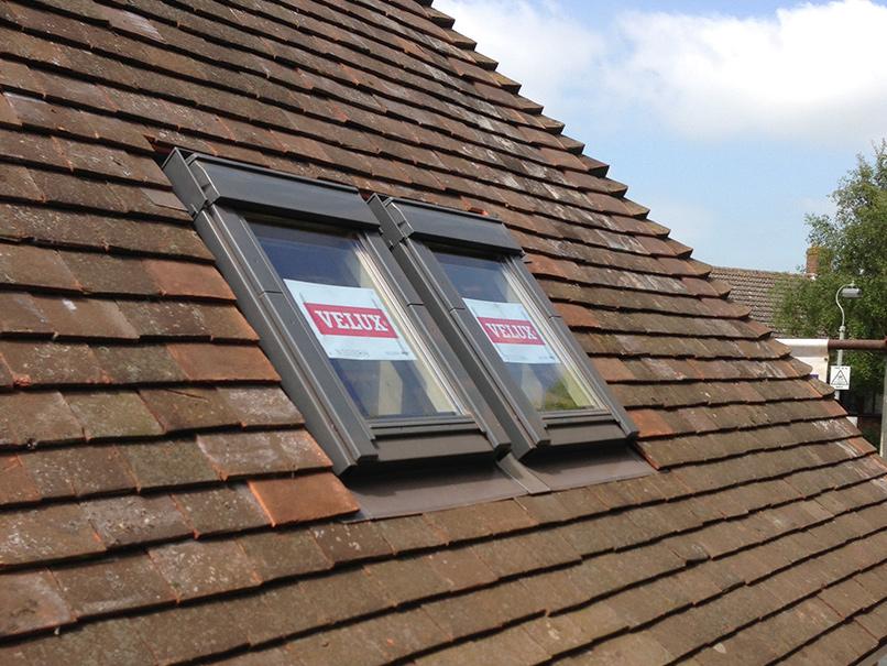 velux windows in roof