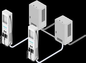 BTC Power 350kW DCFC ev chargers