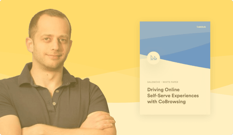 Driving Online Self-Serve Experiences with CoBrowsing