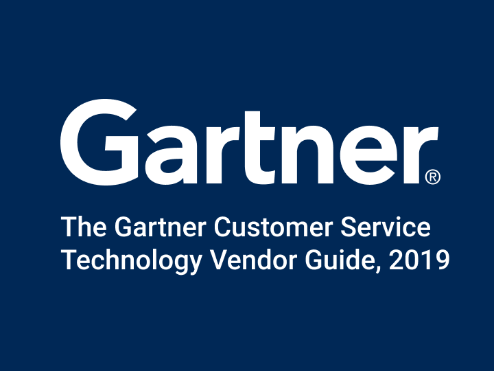 "Glia Listed in Gartner Report ""The Gartner Customer Service Technology Vendor Guide, 2019"""